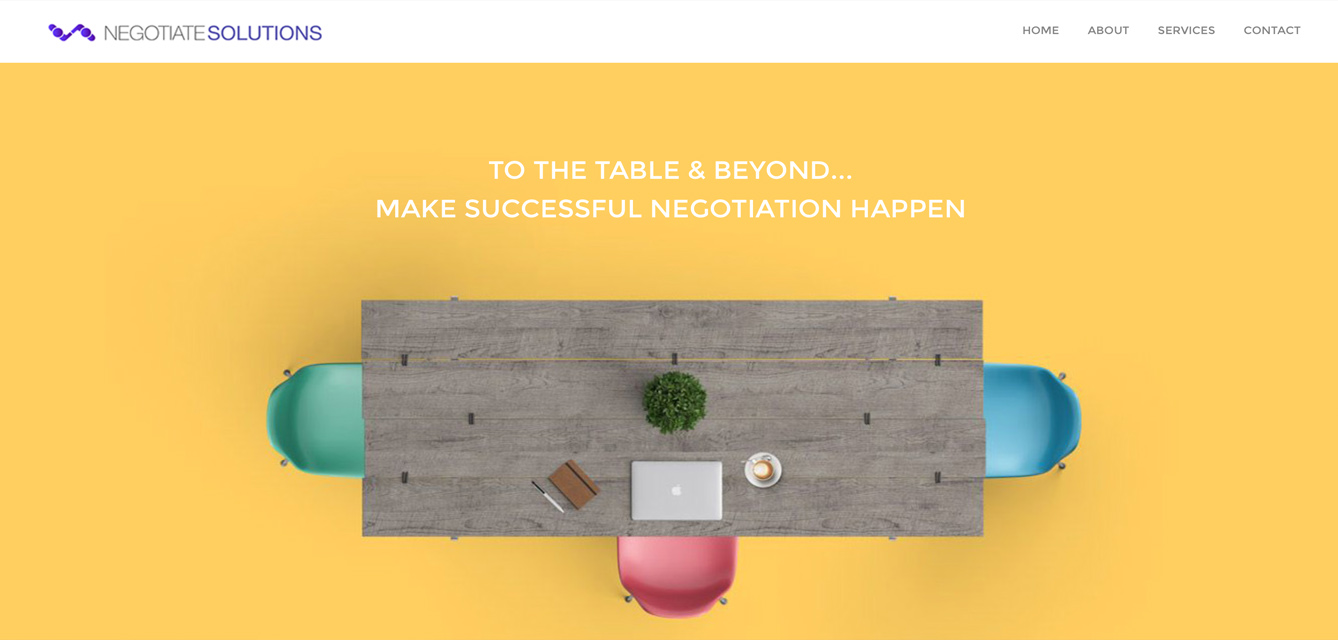New Website Design - Negotiate Solutions